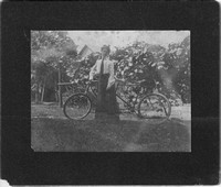 Photo_Unknown Portraits_unknown woman with tandem bike