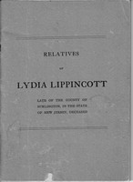 Lippincott, Lydia, Estate and Distribution Articles